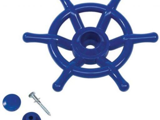 bootstuur blauw