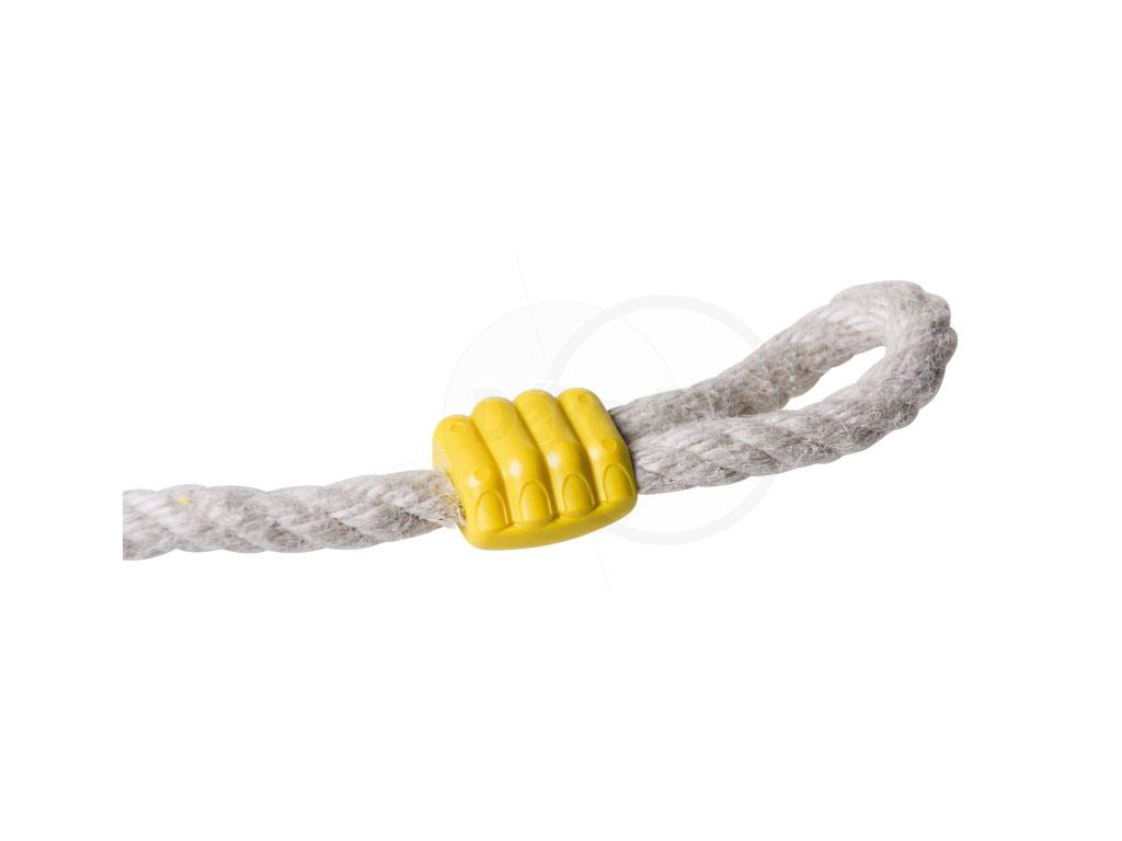het typerende gele 'handje'
